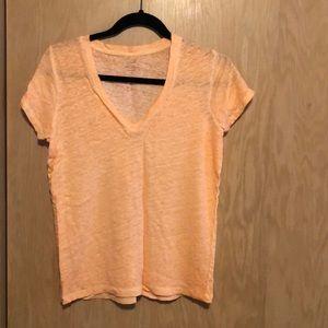 Linen T-shirt from J Crew sz M